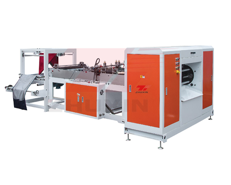 Double Line Automatic Rolling Bag Machine For Garbage Bag