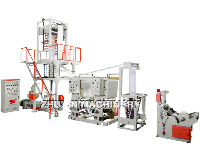 Plastic Blown Film Machine online Gravure Printing Machine