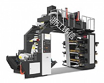 High Speed Flexographic Printing Machine 6 color (Synchronous Belt)