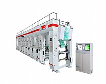 High-speed Computer Auto Register Gravure Printing Machine