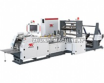 High Quality High Speed Full Automatic Sharp Bottom Paper Bag Machine