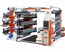 Six Colour Flexible Printing Machine
