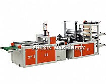Double Layer Automatic T-shirt Bag Making Machine