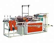 Cutting Off Bag On Roll Bag Making Machine