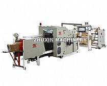 square bottom food paper bag making machine